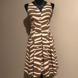 Banana Republic Issa London zebra print dress